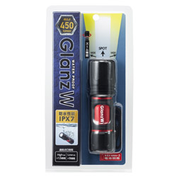 L7GAZ4507BK 懐中電灯 ブラック [LED /単4乾電池×3 /防水]