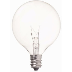 G501210C ベビーボール球(E12口金/クリア)