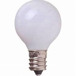 G301705W ベビーボール球(E17口金/ホワイト)