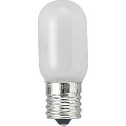 T201715W ナツメ球 (E17口金/15W/ホワイト)