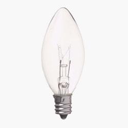 C301210C ローソク球 C30(E12/10W/クリア)