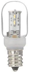 LDT1LG20E12 ナツメ形LEDランプ(電球色/E12口金/クリア)