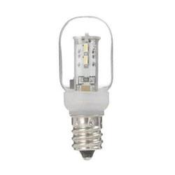 LDT1NG20E12 ナツメ形LEDランプ(E12口金/昼白色/クリア)