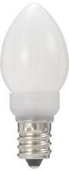 LDC1LG23E12W ローソク形LEDランプ(電球色/E12口金/ホワイト)