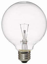 GC100V57W95 ボール電球(60W形/E26口金/クリア)