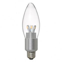LDC4LG32E17 シャンデリア形LED電球(E17口金/電球色/全光束280lm)