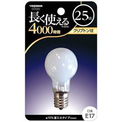 クリプトン電球 (25W/ホワイト・口金E17) BKP1722F 【ビックカメラグループオリジナル】
