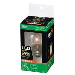 G40ボール形LED E26 L色 CL 25W形相当 LDG2LG40C