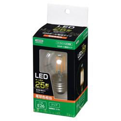 G50ボール形LED E26 L色 CL 25W形相当 LDG2LG50C