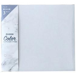 HOOK COLOR(ホックカラー)フォトアルバム用スペア台紙 HK-84 ライトグレー
