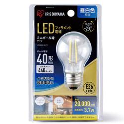 LEDフィラメント電球 ミニボール球タイプ LDG4N-G-FC [E26 /昼白色]