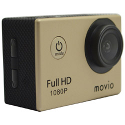 movio M101FHD フルハイビジョンアクションカメラ