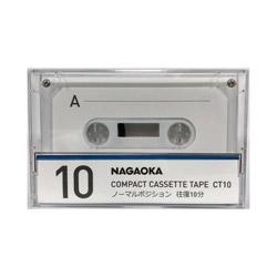 オーディオカセットテープ CT10 [10分]