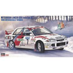 """1/24 三菱 ランサー GSR エボリューション III """"1996 スウェディッシュ ラリー ウィナー"""" プラモデル"""