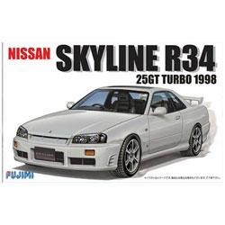 1/24 インチアップシリーズ No.16 R34スカイライン 25GTターボ'98