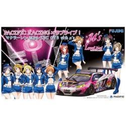 1/24 PACIFIC RACING×ラブライブ マクラーレン MP4-12C GT3 with μ's
