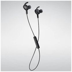 bluetooth イヤホン カナル型 EVEREST 100 ブラック V100BTBLKGP [リモコン・マイク対応 /ワイヤレス(ネックバンド) /Bluetooth]