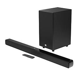 JBL(ジェービーエル) ホームシアター (サウンドバー)  ブラック JBLSB190BLKJN [2.1ch /Bluetooth対応 /DolbyAtmos対応]