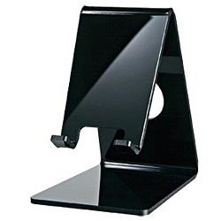 スマートフォン対応 デスクトップスタンド (ブラック) PDA-STN2BK