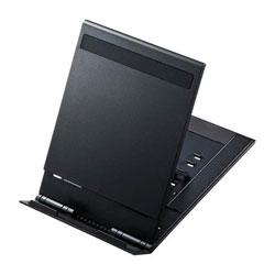タブレット用[〜厚さ19mm] モバイルスタンド ブラック PDA-STN11BK