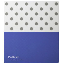 マウスパッド[170x150x0.6mm] パターン ドットS MPD-216B
