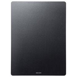 マウスパッド[260x350x2.6mm] 四角型 LL ブラック MPD-NS3-LL