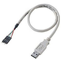 USB変換ケーブル 【A】⇔【バラ4P】 TK-USB1