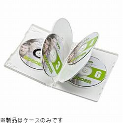 CD/DVD/Blu-ray対応収納トールケース (6枚収納×3セット・ホワイト) DVD-TN6-03W
