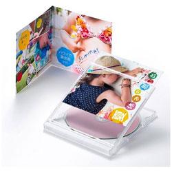 〔インクジェット〕 CD・DVDケースカード 0.23mm (A4・10シート) JP-INDGK2N