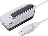 MM-ADUSB USBオーディオ変換アダプタ(シルバー)