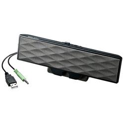 SANWA SUPPLY(サンワサプライ) USB電源サウンドバースピーカー MM-SPL11UBK