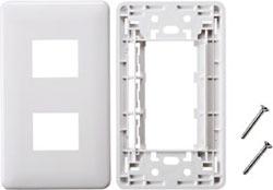 LA-FP-J2K (JIS対応フェイスプレート/2ポート用)