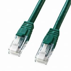 KB-T6TS-005G カテゴリー6対応ツメ折れ防止LANケーブル (0.5m/グリーン)