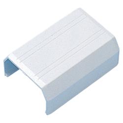 ケーブルカバー 接続部品(直線・幅22mm用・ホワイト)