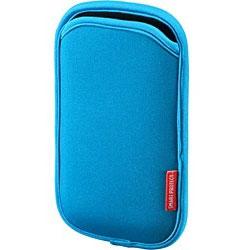 スマートフォン用[幅 70mm] マルチスマートフォンケース (ブルー) PDA-SPC1BL