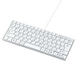 SKB-SL18WN 有線キーボード[USB 1.5m・Win] 静音スリム (85キー・ホワイト)