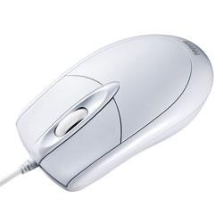 MA-130HPW (ホワイト) PS/2有線光学式マウス