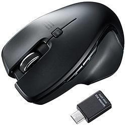 MA-WBLC127BK Type-Cワイヤレスマウス[ブラック]