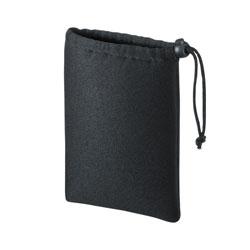 マルチクッションケース(巾着タイプ・ブラック) IN-C1K