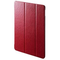 iPad 9.7インチ用 ソフトレザーケース レッド PDA-IPAD1007R