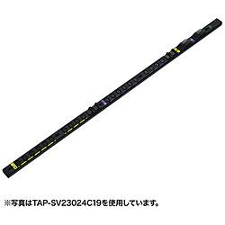 19インチサーバーラック用コンセント(スリムタイプ・200V・30A) TAP-SV23020C19 [3.0m /20個口 /スイッチ無]