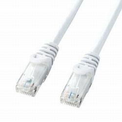 カテゴリー6対応 LANケーブル (ホワイト・3.0m) LA-Y6-03W