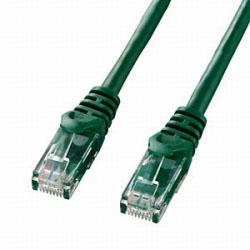 カテゴリー6対応 LANケーブル (グリーン・1.0m) LA-Y6-01G