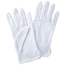 静電気防止手袋 滑り止め付き (Lサイズ)