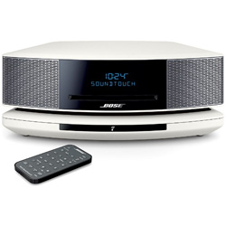 WiFi対応 ブルートゥーススピーカー Wave SoundTouch music system IV(アークティックホワイト) WST IV AW