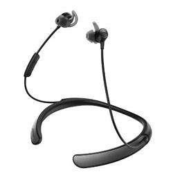 BOSE(ボーズ) ブルートゥースイヤホン カナル型 QuietControl 30 wireless headphones(ブラック)QC30[マイク付][ノイズキャンセリング]