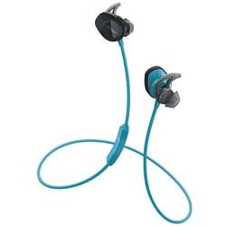 BOSE(ボーズ) ブルートゥースイヤホン カナル型 SoundSport wireless headphones(ブルー)SSport WLSS AQA[マイク付]
