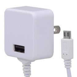 ACアダプター USB+MicroUSB 1A MAV-AUM1-W ホワイト