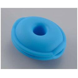 イヤホン用コードリール(ブルー) AUD-P5853-A