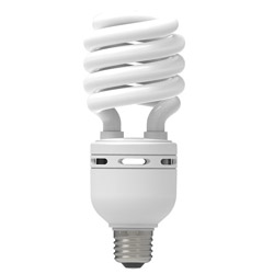 電球形蛍光灯 スパイラル形 E26 150形相当 昼光色 エコデンキュウ EFD30ED-SP